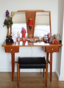 Cozy Mid Century Dressing Tables Vanities Ideas 16