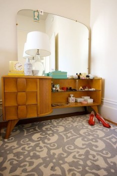 Cozy Mid Century Dressing Tables Vanities Ideas 32