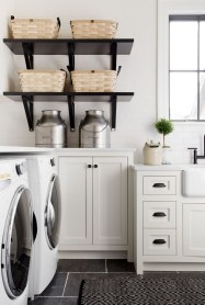 Impressive Bohemian Laundry Room Ideas To Inspire You 15
