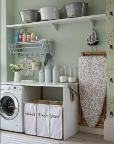Impressive Bohemian Laundry Room Ideas To Inspire You 22