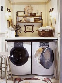 Impressive Bohemian Laundry Room Ideas To Inspire You 25