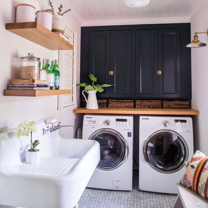 Impressive Bohemian Laundry Room Ideas To Inspire You 48