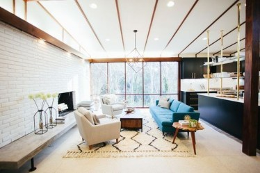 Incredible Mid Century Modern Living Room Decor Ideas 48