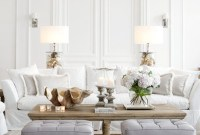 Incredible White Walls Living Room Design Ideas 13