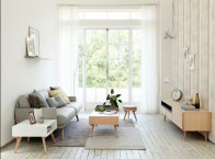 Incredible White Walls Living Room Design Ideas 43