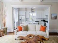 Incredible White Walls Living Room Design Ideas 44