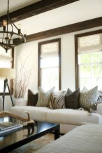 Incredible White Walls Living Room Design Ideas 48