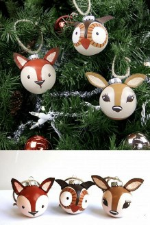 Lovely Homemade Christmas Decorations Ideas 27