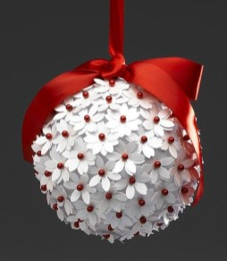 Lovely Homemade Christmas Decorations Ideas 38