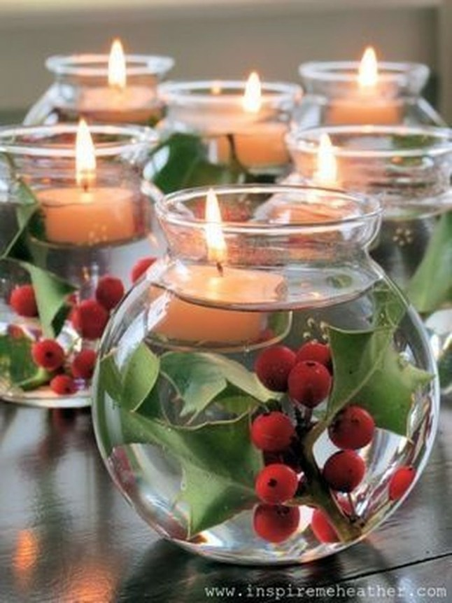 Lovely Homemade Christmas Decorations Ideas 45