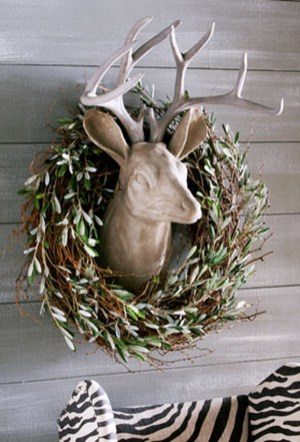 Magnificient Rustic Christmas Decorations And Wreaths Ideas 51