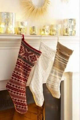Perfect Christmas Stocking Decoration Ideas 24
