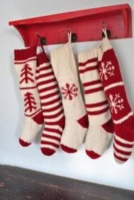 Perfect Christmas Stocking Decoration Ideas 37