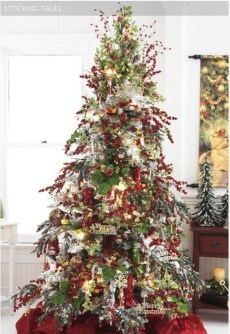 Stylish Decorated Christmas Trees 2018 Ideas 05