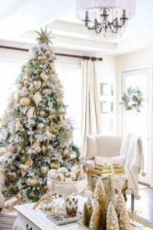 Stylish Decorated Christmas Trees 2018 Ideas 13