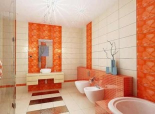 Wonderful Color Combination For Your Bathroom Design Ideas 09