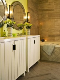 Wonderful Color Combination For Your Bathroom Design Ideas 18