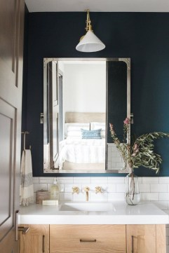 Wonderful Color Combination For Your Bathroom Design Ideas 33