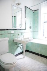 Wonderful Color Combination For Your Bathroom Design Ideas 38