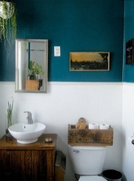 Wonderful Color Combination For Your Bathroom Design Ideas 47