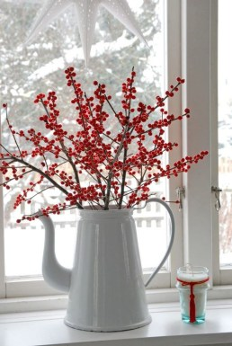 Wonderful Red Christmas Decoration Ideas 13