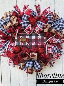 Wonderful Red Christmas Decoration Ideas 51