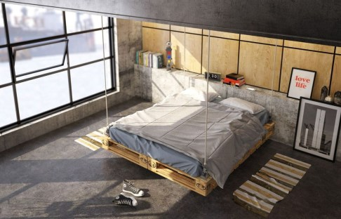Attractive Industrial Bedroom Design Ideas 31