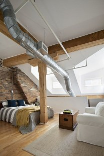 Attractive Industrial Bedroom Design Ideas 52