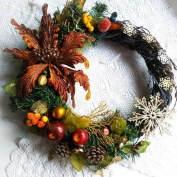 Awesome Christmas Wreath Decoration Ideas For Your Home 04