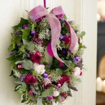 Awesome Christmas Wreath Decoration Ideas For Your Home 29