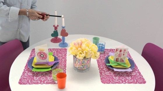 Cute Table Setting Ideas For Valentines Day 39