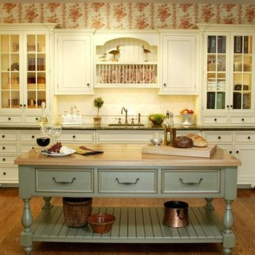 Delightful French Country Kitchen Design Ideas 38
