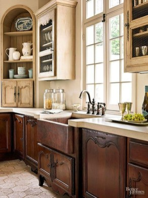 Delightful French Country Kitchen Design Ideas 52