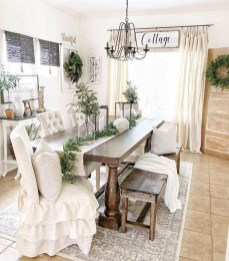Fantastic Farmhouse Dining Room Design Ideas 19