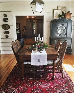 Fantastic Farmhouse Dining Room Design Ideas 50