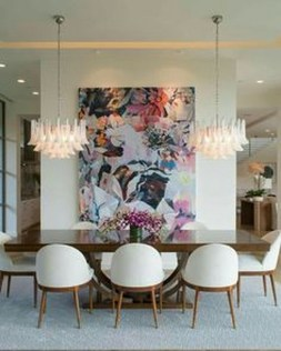 Fascinating Chandelier Lamp Design Ideas For Your Dining Room 28