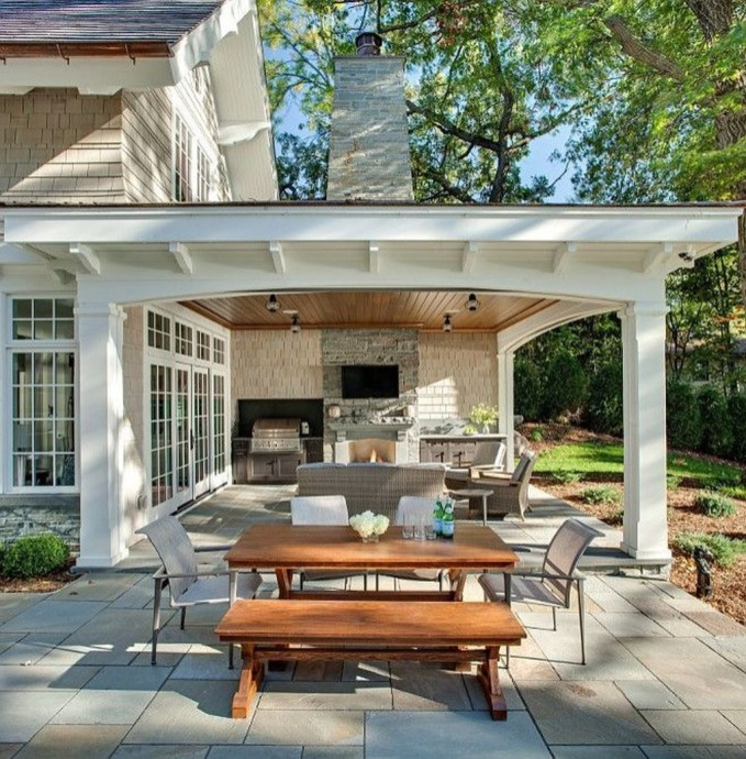 Fresh Backyard Patio Design Ideas 53