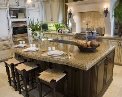 Modern Kitchen Island Decor Ideas 24