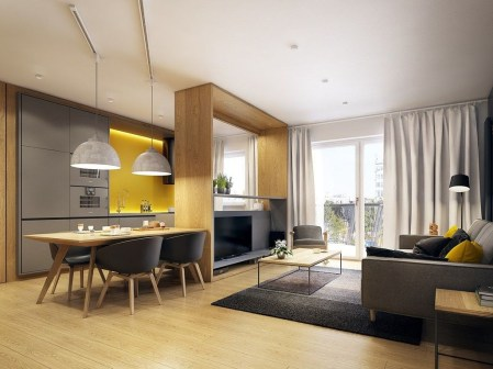 Popular Apartment Interior Design For Your Inspirations 26