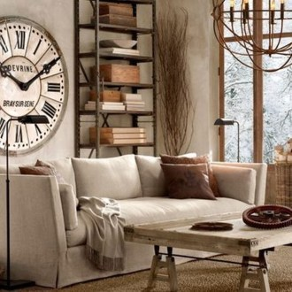 Romantic Rustic Bohemian Living Room Design Ideas 10