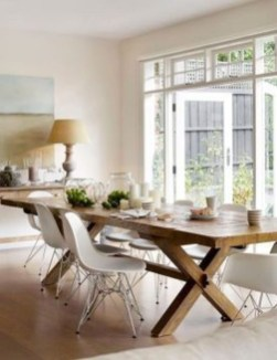 Amazing French Country Dining Room Table Decor Ideas 33