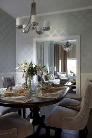 Amazing French Country Dining Room Table Decor Ideas 39