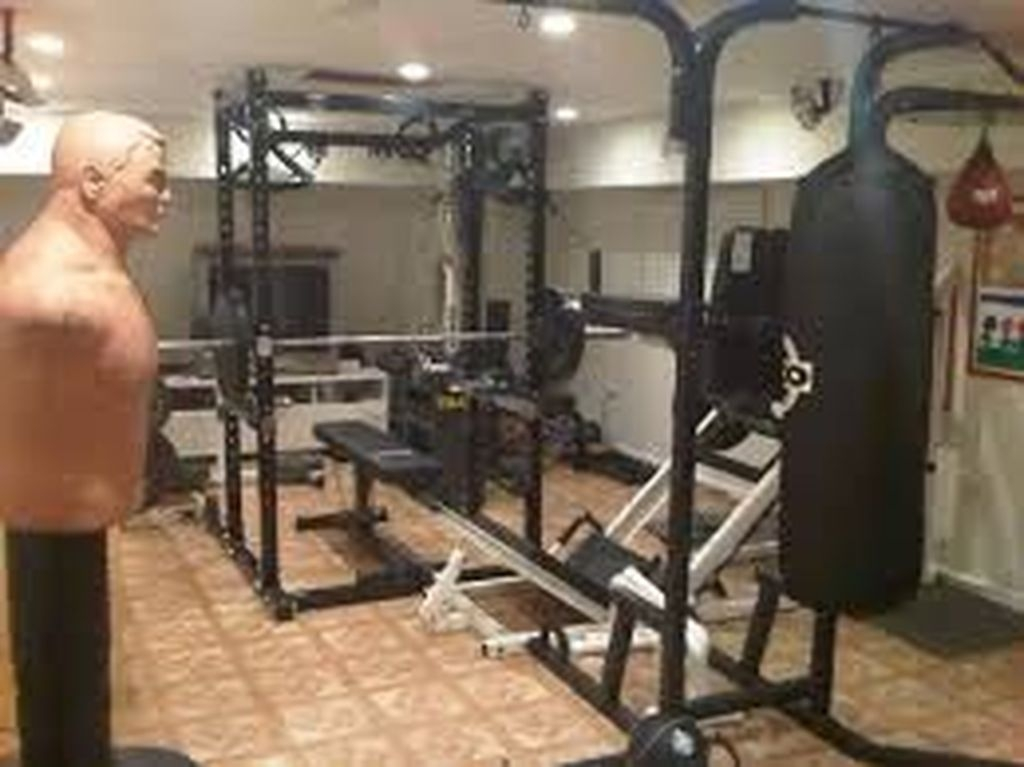 Cheap Home Gym Decorating Ideas For Small Space 02