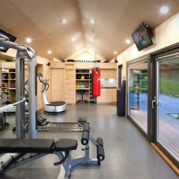 Cheap Home Gym Decorating Ideas For Small Space 19