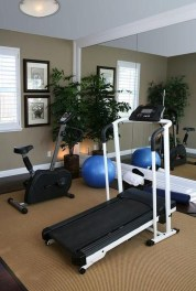 Cheap Home Gym Decorating Ideas For Small Space 27