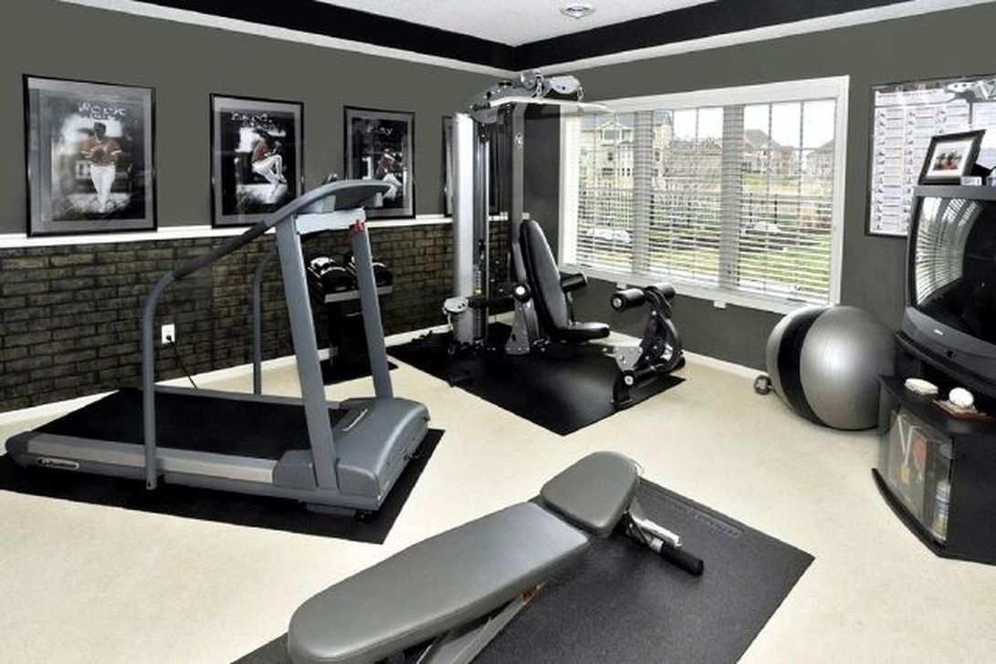 Cheap Home Gym Decorating Ideas For Small Space 30
