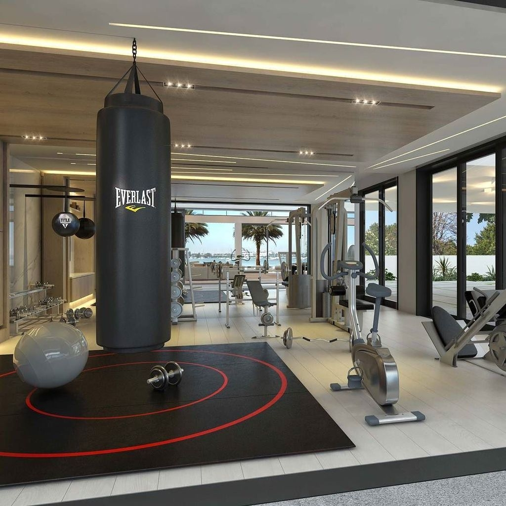 Cheap Home Gym Decorating Ideas For Small Space 50
