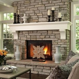 Impressive Fireplace Design Ideas 45