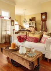 Lovely Farmhouse Living Room Decor Ideas 04