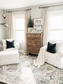 Lovely Farmhouse Living Room Decor Ideas 44